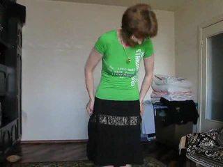 mature amateur black panties stripping