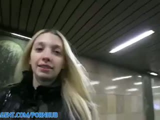 Miriama kunkelova - publicagent högupplöst blekt mager mina stretches henne fittor till ta min stor kuk