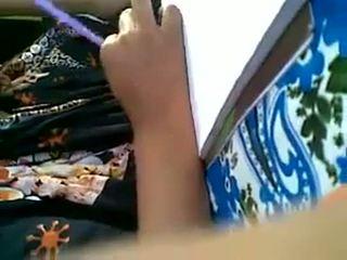 Min vän muslim flicka klantskallar tryck & lipock
