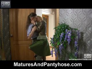 Mix Of Clips By Matures And Pantyhose