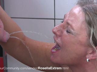Die Geile MILF Rosellaextrem Trinkt Pisse: Free HD Porn b0
