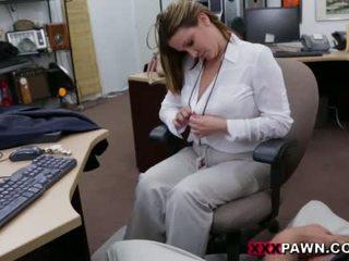 Booby affärer lady banged av pawn dude