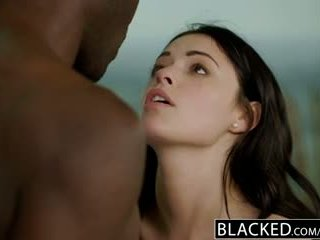 Blacked british bojo ava dalush loves big ireng jago!