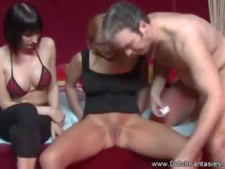 Nederlands mam teaches nerd dochter seks, porno 0f