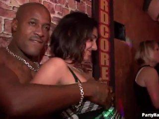 публичния секс, купонджийки, клуб