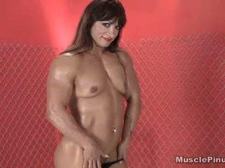brunette, vaginal masturbation, solo girl