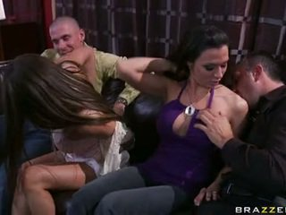 Rachel Roxx And Rachel Starr Playing With Chick Lads