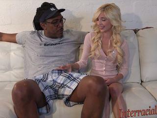 80lb блондинки takes на 12 inch най-големият черни хуй: hd порно b4