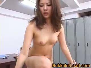 Aya matsuki възбуден азиатки кукла enjoys секс part1
