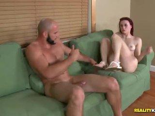 Sage evans begs for cum on her pretty ...