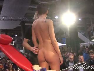 striptease, strip, stage