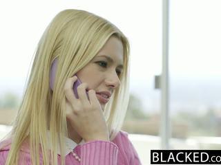 Blacked rambut pirang istri kennedy kressler gets balas dendam dengan sebuah besar hitam kontol