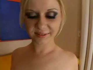 Aaralyn barra - blondýna je practicing pre the creampie olinpic