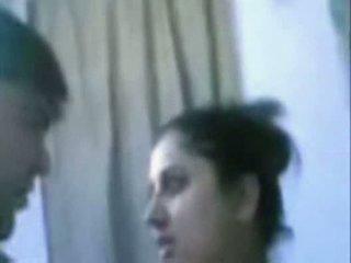 Indisk äldre par knull mycket hård i badrum