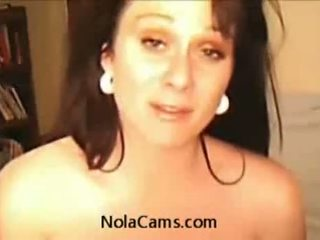 Hot Milf Mom Masturbating On Webcam For Her Neighb