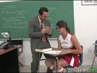 blowjob, glasses, classroom