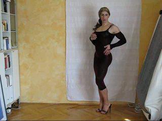crossdresser, solo, pakaian dalam