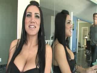 True shemale idol having cock gagged