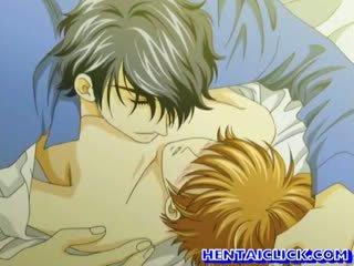 Hentai homo heet kissed en reet geneukt