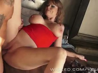 Wicked - Trashy Milf Darla Crane takes a big load