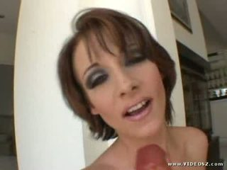 Finally covergirl Sierra Sinn gets her turn to climb aboard the midnight express for a fill hour of bone-jarring hole ja