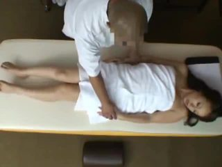 Young Wife reluctant Orgasm during Health Massage 2