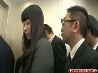 Foarte sexy și fierbinte japonez fata la dracu video