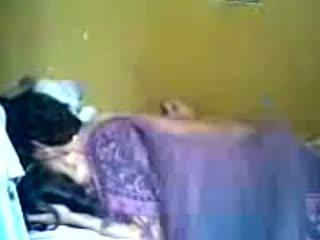 Indonéský romantic dospívající pár provést láska v ložnice