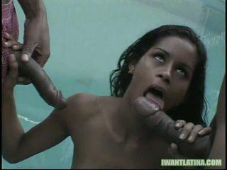 Kid Jamaica And Mark Anthony Cock Slam This Hot Latin Slut1