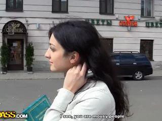 outdoor sex, blowjob, money