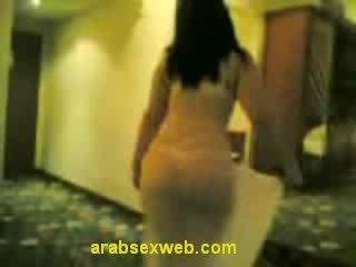 brunett, striptease, arabiska