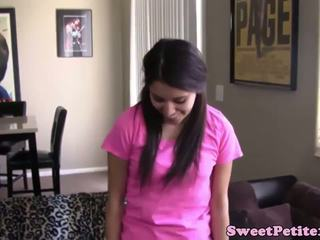 Shy Petite Teen Nailed by Hard Cock, Free Porn 04