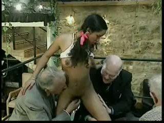 grup seks, eski + genç, ırklararası