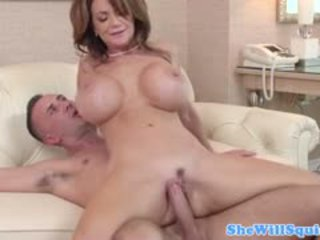 Big titted squiter deauxma gets wrecked