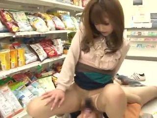 Akiho yoshizawa has amazingly got laid į a supermarket