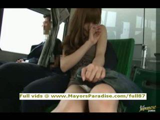 Rio від idol69 азіатська дівчина є трахкав на the автобус