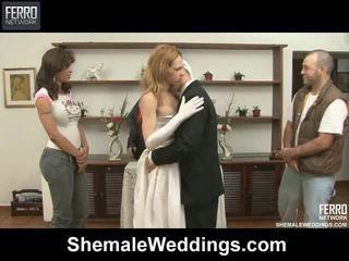 Sekoittaa of elokuvat mukaan shemale weddings