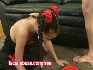 Mazs dziļi throat aziāti prostitūte loves being shared