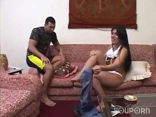 迪克 之間 她的 腿 是 一 驚 為 這 guy