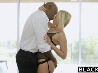 Blacked rambut pirang kate england gets anal dari besar hitam