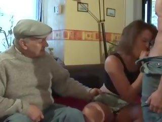 vīrietis, vecs, franču