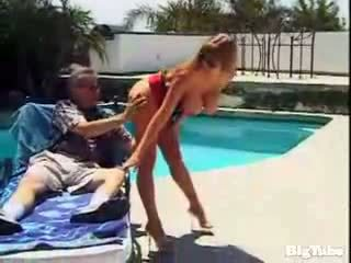 Darla crane titty fucks ja sucks riist outdoors