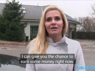 Publicagent Desperate Milf Fucks for a...