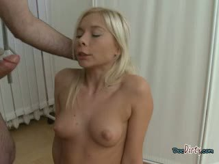 Blonde Whore Does Blowjob And Anal During Physical Exam