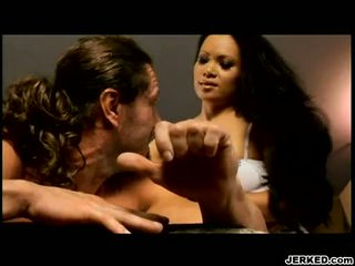 Erotic Asian Honey Mya LuAnna Gives That Guyr Man A Hawt Blow On The Rod