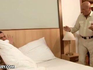 Lusty Grandmas: Kinky family foursome having hardcore sex