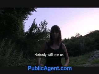 Nice public sex video with big boobies