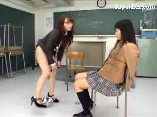 lesbiete, klase, asian