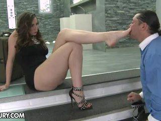 voet fetish, sexy benen, footjob