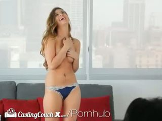 Dhuwur definisi - castingcouch-x teddi gets fucked for the first time on camera